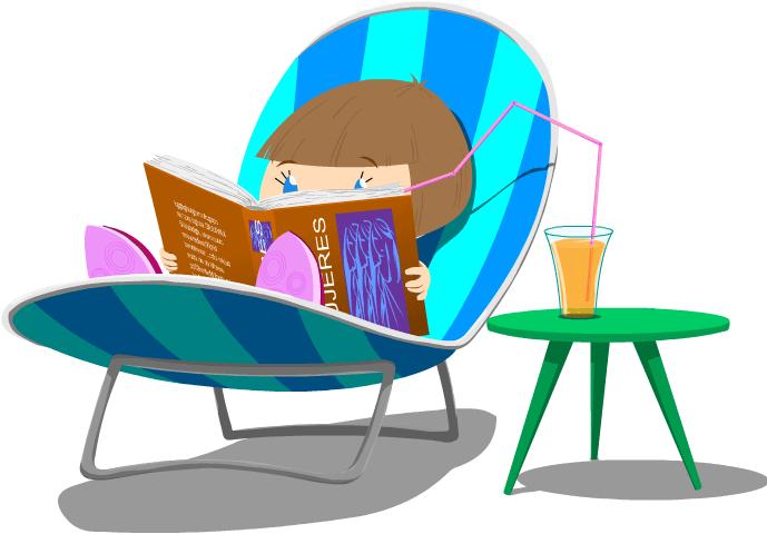 Superlola leyendo libros de mujeres valientes